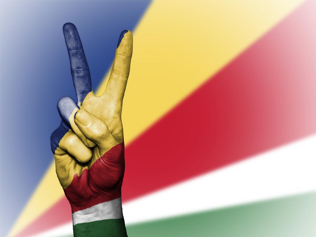 Flagge Seychellen Reisen